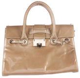 Jimmy Choo Patent Leather Rosalie Satchel