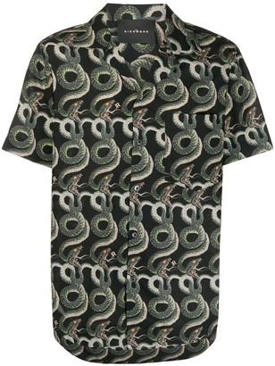 John Richmond Snake Print Shirt