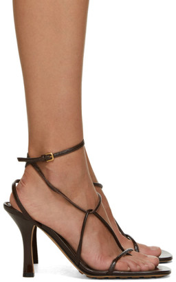 Bottega Veneta Brown Strappy Sandals