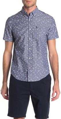 Original Penguin Ditsy Floral Print Slim Fit Shirt