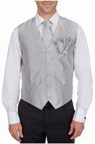 Buy Your Ties Men's Solid Formal Vest Necktie - Bow Tie and Hanky Set
