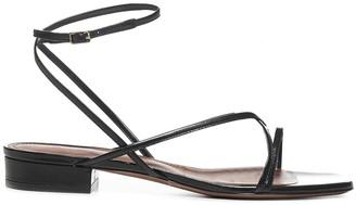 L'Autre Chose Ankle Strap Flat Sandals