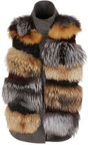 S.W.O.R.D. Fur Applique Vest
