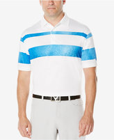 Callaway Men's Marbled Striped Polo
