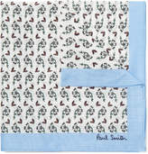 Paul Smith Floral-Print Cotton Pocket Square