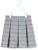 Il Gufo pleated skirt - kids - Polyamide/Wool - 4 yrs