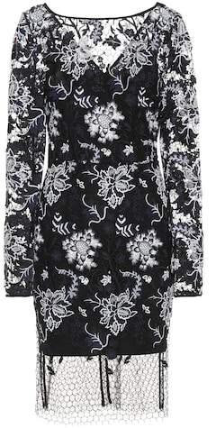 Diane von Furstenberg Embroidered lace dress