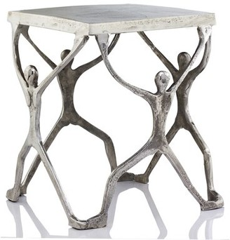 Ivy Bronx Capri Figurine End Table