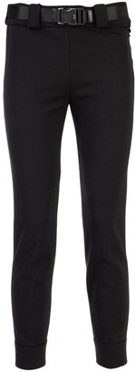 Prada Belted Cropped Trousers