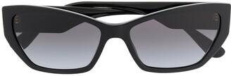 Dolce & Gabbana Eyewear Cat-Eye Frame Sunglasses