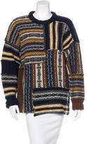 Joseph Patterned Wool Sweater
