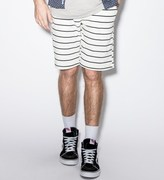 Publish White Hemp Shorts