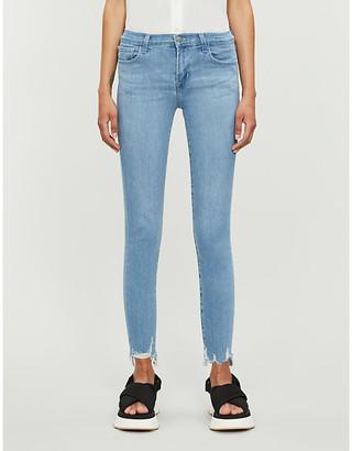 J Brand 835 Skinny Mid-Rise Stretch-Denim Jeans