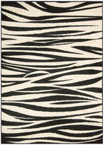 Nourison Perception Black/White Area Rug Rug