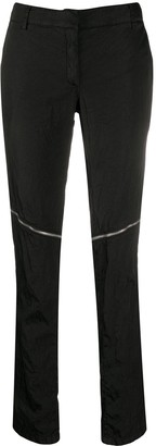 Alyx Front Zipped Skinny Trousers
