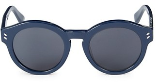 Stella McCartney 48MM Round Sunglasses