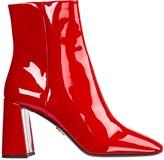 Prada Opanca Heeled Ankle Boots