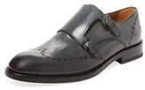 Antonio Maurizi Wingtip Double Monkstrap