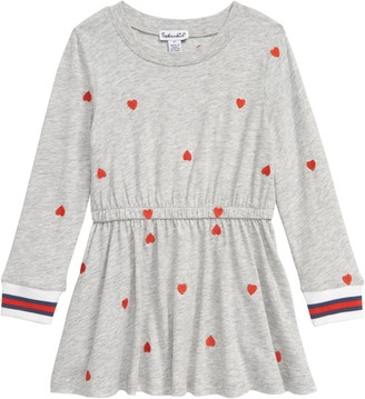 Splendid Embroidered Heart Dress