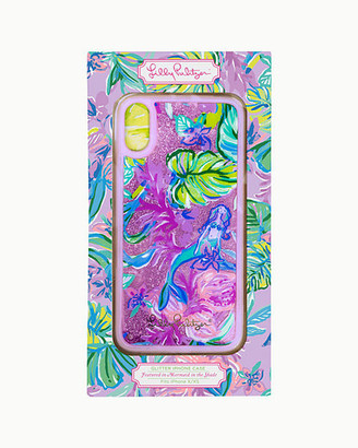 Lilly Pulitzer Glitter iPhone X/XS Case