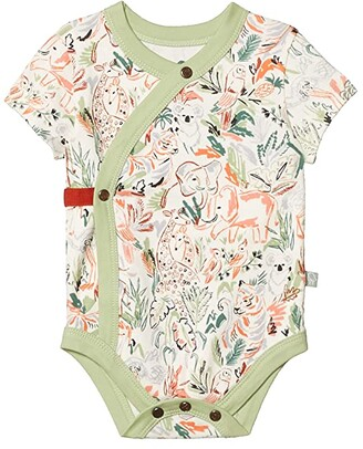 finn + emma Animal Kingdom Short Bodysuit (Infant) (Animal Kingdom) Kid's Jumpsuit & Rompers One Piece