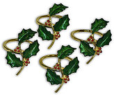 Lenox Holiday Nouveau Napkin Ring Set