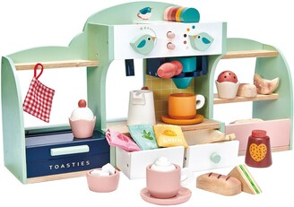 Tender Leaf Toys Mini Chef Bird's Nest Cafe Wooden Play Set
