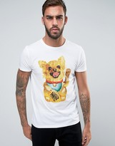 BOSS ORANGE by Hugo Boss Dog Print T-Shirt Regular Fit