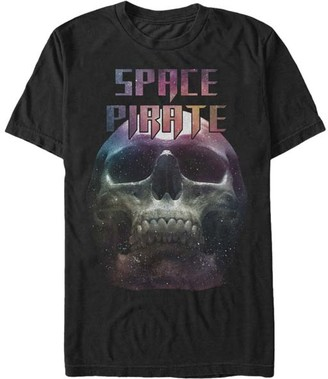 Chin Up Apparel Men's Tee Shirts BLACK - Black 'Space Pirate' Tee - Men