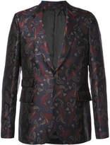 Paul Smith paisley jacquard blazer