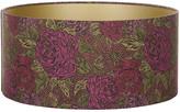 Liberty of London Designs Jubilee Lamp Shade - Kate Ada Garnet Ceiling - 45x21cm