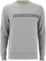 BOSS GREEN Men's Salbo Sweatshirt Grey Melange