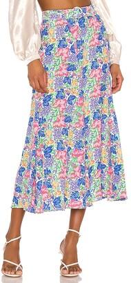 Faithfull The Brand Valensole Midi Skirt