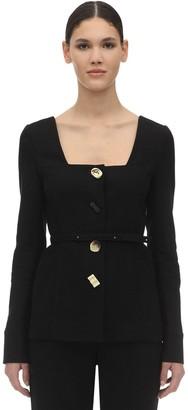 REJINA PYO Martina Linen & Cotton Twill Jacket