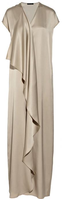 The Row Priston silk-satin maxi dress