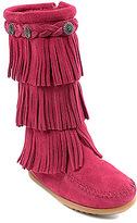 Minnetonka Girls' 3-Layer Fringe Boot