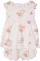 The Little White Company Floral cotton pyjama set 1-6 years