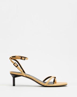 Senso Women's Yellow Heeled Sandals - Jamu III - Size One Size, 38 at The Iconic