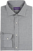 Ralph Lauren Purple Label Men's Bond Cotton Shirt-LIGHT GREY, GREY