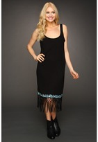Volcom Heart Nouveau Fringe Dress (Black) - Apparel