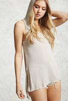 Forever 21 FOREVER 21+ High-Low Hooded Tunic