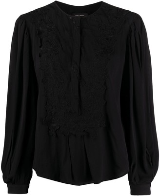 Isabel Marant Lace-Trimmed Blouse
