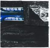 Etro faded paisley print scarf