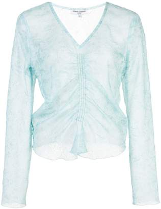Opening Ceremony ruched front top