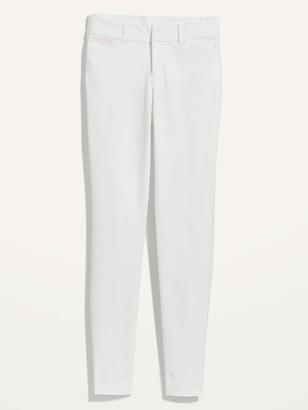 Old Navy Mid-Rise Pixie Full-Length Skinny Pants for Women