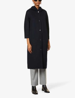 S Max Mara Lorena hooded wool coat