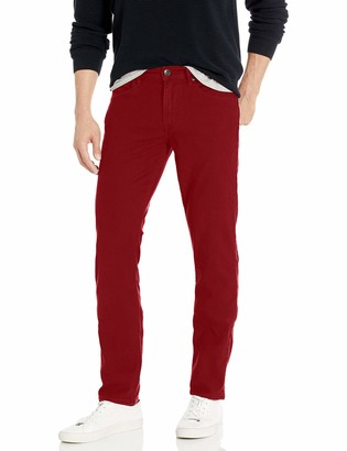 Hudson Men's Blake Slim Fit Straight Leg Zip Fly Twill Jean