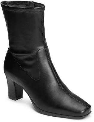 Aerosoles A2 BY A2 by Womens Cinnamon Booties Stacked Heel