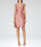 Reiss Nora Devore Dress