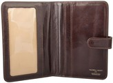 Maxwell Scott Bags High Quality Brown Full Grain Leather Travel Wallet